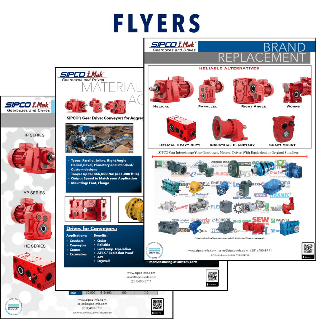 Gearboxes flyers